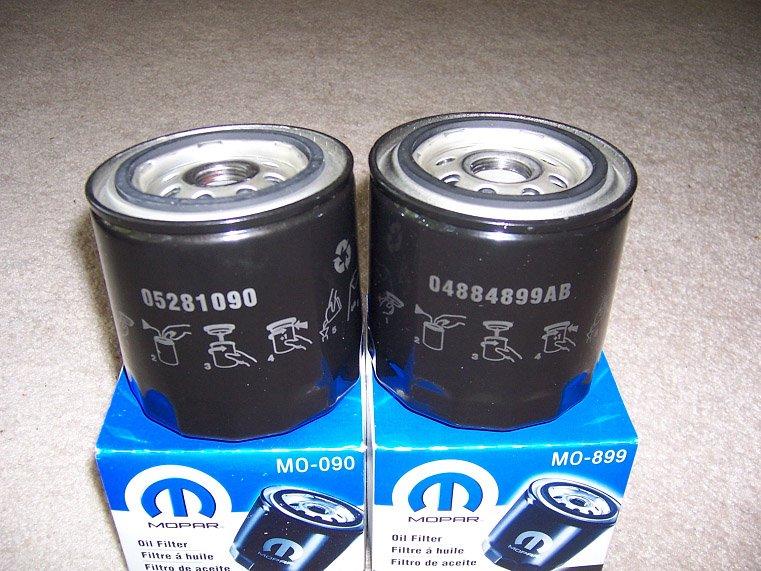 Mopar 04884899AB Filtre /à huile