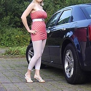 chrysler 300c hemi v8 and my wife elena
